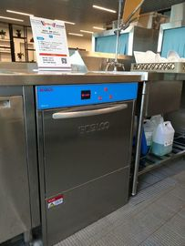 China Stainless Steel Commercial Dishwasher  6.5KW / 8.5KW for Coffee shop supplier