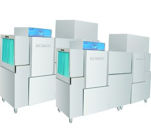 China 380KG Stainless Steel Commercial Dishwasher 80-100 ℃ Drying , Hotel Dishwasher supplier