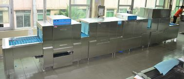 China 920KG Stainless Steel Commercial Dishwasher ECO-L850CP3H2 8500mm Length supplier