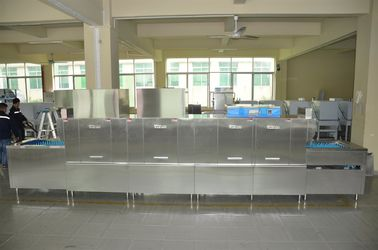 680KG Stainless Steel Commercial Dishwasher ECO-L580P2H2  for Hotels