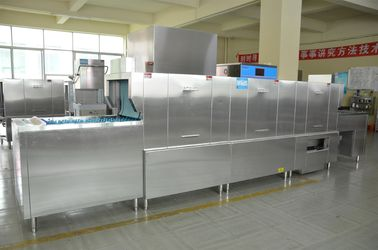 China 630KG Stainless Steel Long chain dishwasher ECO-L620CPH for Restaurants supplier