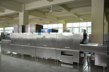 China 680KG Flight Machine Dishwasher Stainless Steel ECO-L670CPH2 for Restaurants supplier