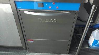 China Stainless Steel Commercial Undercounter Dishwasher 60KG 6.5KW / 8.5KW for Lobby bar supplier