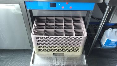 China Coffee Shop Commercial Undercounter Dishwasher 850H 600W 630D 60KG supplier