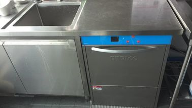 China Commercial Grade Undercounter Dishwasher 850H 600W 630D Dispenser inside supplier