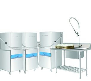 China Guest House Hood type dishwasher Commercial Restaurant Equipment CE Certification supplier