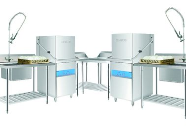 China 107KG Commercial Kitchen Dishwashing Equipment  for Staff canteens or Hotel supplier