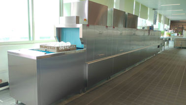 China Safety Compact Commercial Dishwasher / Fastest Residential Dishwasher 82~95℃ supplier