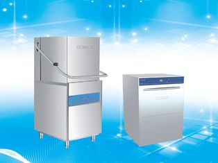 China High Efficiency Industrial Dishwashing Machine / Commercial Glassware Dishwasher supplier