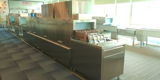 China Quiet Commercial Kitchen Dishwashing Station / Compact Dishwasher For Commercial Use supplier