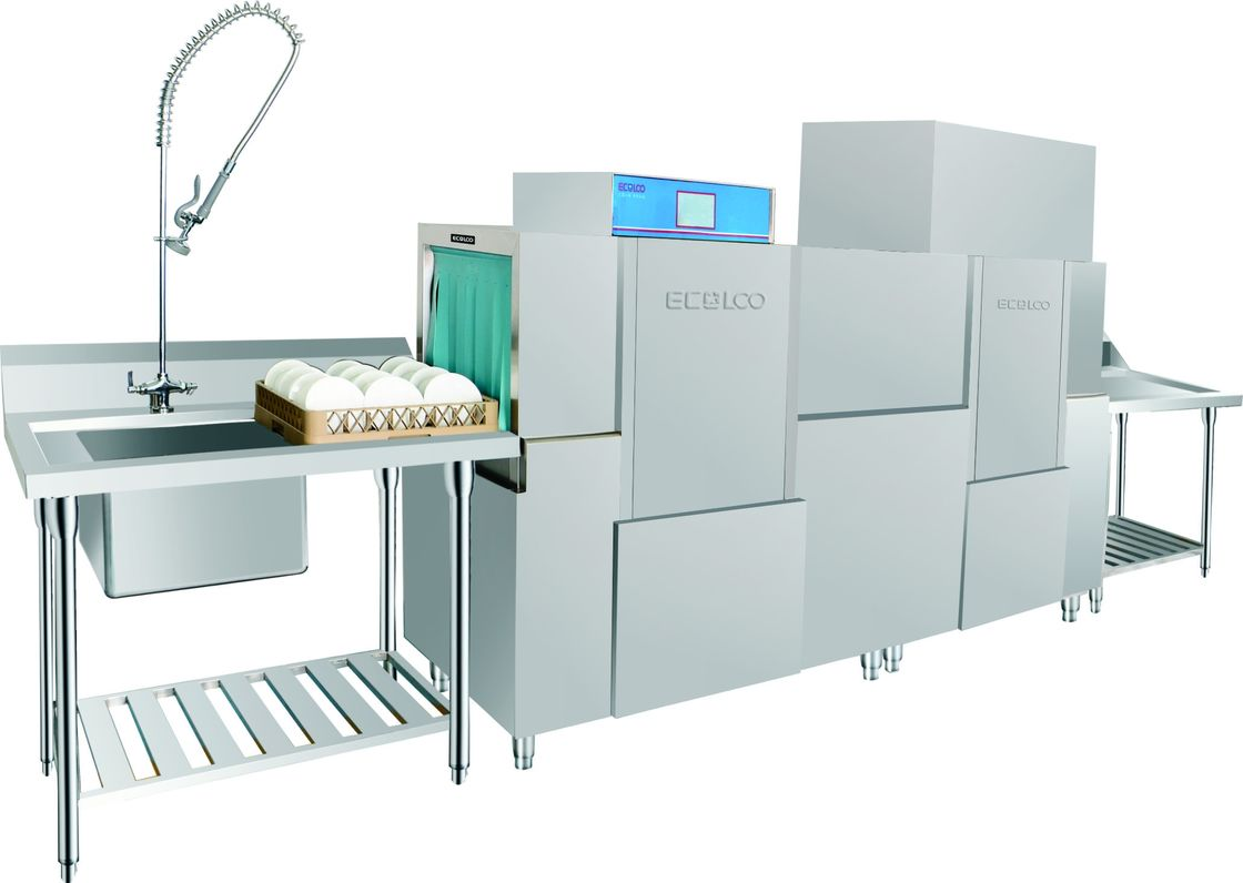 180 Racks Commercial Kitchen Dishwashing Equipment 300-400 seats ...