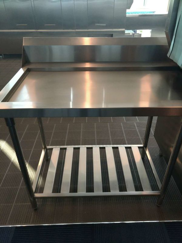 Kitchenaid Dishwasher Parts Stainless Steel Exit Table For - Stainless steel dishwasher table