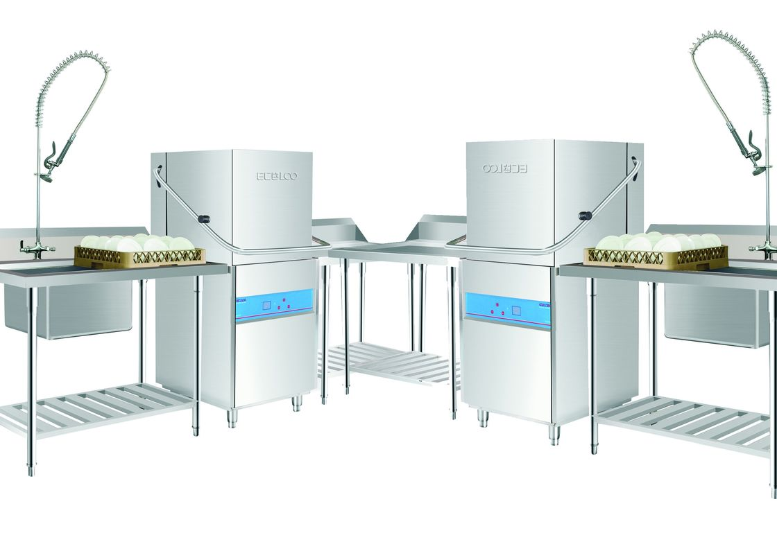 107KG Commercial Kitchen Dishwashing Equipment for Staff canteens or ...