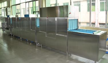Commercial Dishwashing Equipment Stainless Steel Staff canteens ECO-L850CP3H2