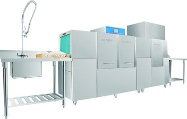 480KG Stainless Steel Hotel Dishwasher Machine ECO-M310P2H , Commercial Grade Dishwasher