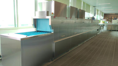Reasonable Flight Type Dishwasher For Restaurant Wash And Rinse Arm Design