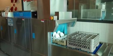 Compact Commercial Dish Machine , Quiet Restaurant Grade Dishwasher